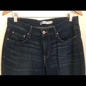 Levi's 515 Dark Wash Jeans Size 8